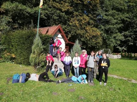 Zajęcia na terenie Leśnictwa Brzozówka